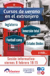 Sesión informativa - cursos en el extranjero